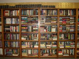 This is not my book shelf, but it *really* looks like it.