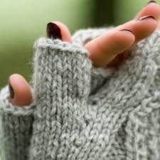 Not that I can actually wear woollen gloves next to my skin, but you get the idea...Image: scotweb.co.uk