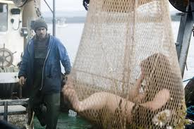 The Colin Farrell movie, 'Ondine', a scene from which is shown here, also features the legend of the selkie. In this case, Farrell, a fisherman, finds a selkie woman in his net, and becomes bewitched by her. Image: ilovewildfox.com