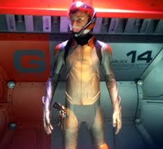 Ender in his flash suit, from the movie 'Ender's Game'. Image: blog.zap2it.com