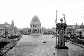 Statue of the Republic, with the Court of Honor and Grand Basin (1890s) Image: illinoisstatesociety.typepad.com