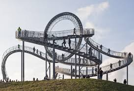 Tiger and Turtle Magic Mountain, Duisburg, Germany. Image: worldlandscapearchitect.com