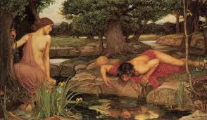 John William Waterhouse, 'Echo and Narcissus', 1903 Image: en.wikipedia.org