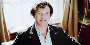 Smug Sherlock. Just because. Image: davinahamilton.com