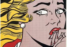 Crying Girl, Roy Lichtenstein (1963) Image: en.wikipedia.org