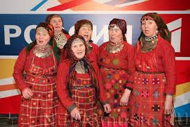 Anyone remember the babushki from a few years ago? I voted for them... Repeatedly. Image: eurovision.tv