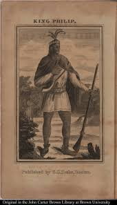 A portrait of Metacom, or Metacomet (a.k.a. King Philip) taken from Benjamin Drake's 1827 history of King Philip's War. Image: en.wikipedia.org