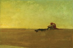 Image: 'Marooned', by Howard Pyle, 1909, Public Domain image. Sourced: flashfriday.wordpress.com