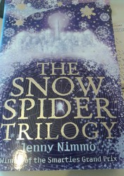 The Snow Spider Trilogy, Egmont, 2005. Image copyright: SJ O'Hart