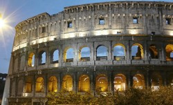 Coliseum in Rome. CC2,0 photo by Vlad. Image sourced: flashfriday.wordpress.com
