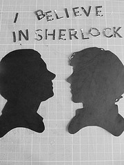 Photo Credit: ashleigh louise. via Compfight cc  Every time you clap your hands, Sherlock and John get a new case!