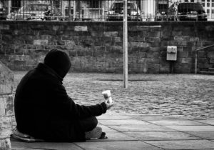 Image: The Beggar. CC 2.0 photo by Image_Michel. Image sourced: flashfriday.wordpress.com