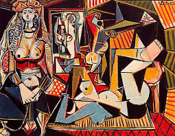 Pablo Picasso, 'Women of Algiers', 1955. Image sourced: pablopicasso.org