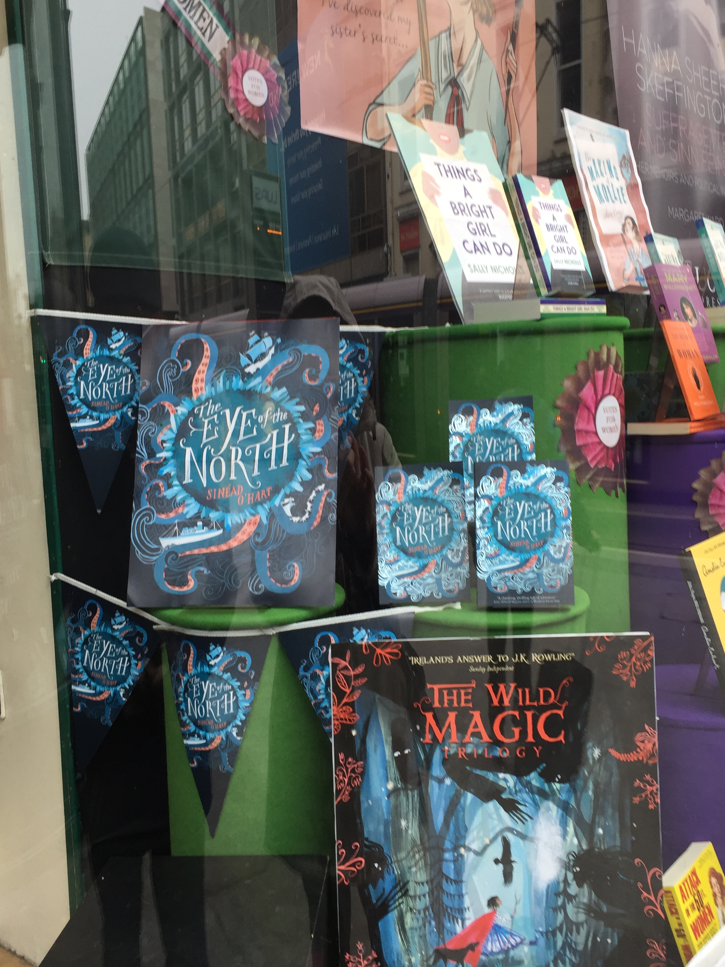 The Eye of the North in Hodges Figgis window